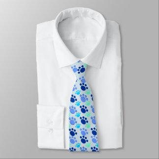 Corbata Personalizada Lazo azul loco de la pata