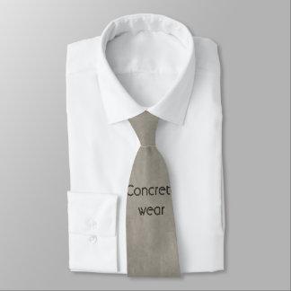 Corbata Personalizada Lazo concreto gris claro del trabajador de