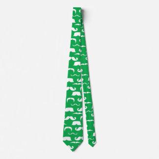 Corbata Personalizada Lazo del bigote del St. Patty