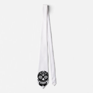 Corbata Personalizada Lazo del cráneo del azúcar
