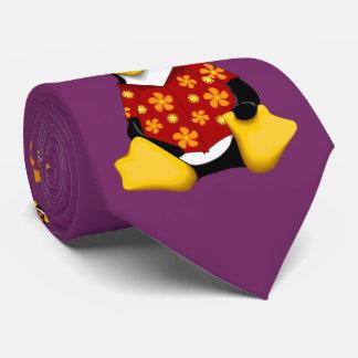 Corbata Personalizada Lazo hawaiano casual de Tux