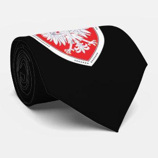 Corbata Personalizada Lazo polaco heráldico de Eagle