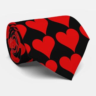 Corbata Personalizada Lazo rojo del corazón