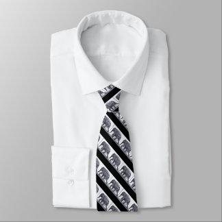 Corbata Personalizada LAZO UNO ENCENDIDO: Lazo que camina del elefante