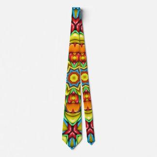 Corbata Personalizada Lazos coloridos del resplandor solar