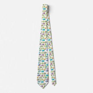 Corbata Personalizada Lazos que acampan de la diversión