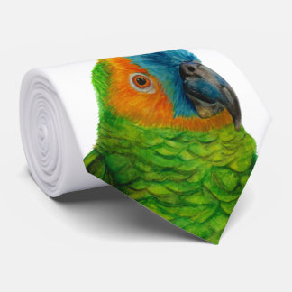 Corbata Personalizada Loro brasileño