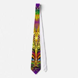 Corbata Personalizada Mardi-Gras-The-Queen-Candle-1