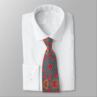Corbata Personalizada Modelo anaranjado del zen del trullo rosado