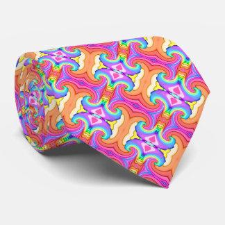 Corbata Personalizada Modelo del remolino de los colores en colores