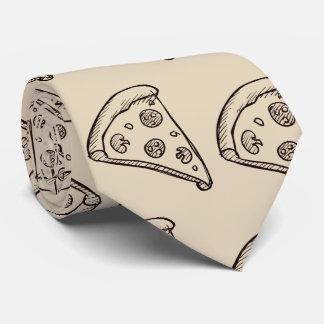 Corbata Personalizada Moreno PizzaTie