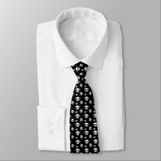 Corbata Personalizada Muchachos del cráneo de Justyn Johnson