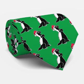 Corbata Personalizada Navidad del tejón de miel
