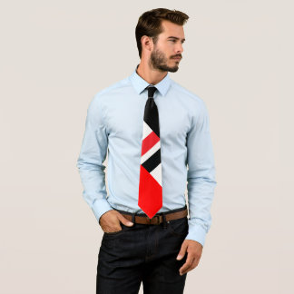 Corbata Personalizada Negro blanco rojo