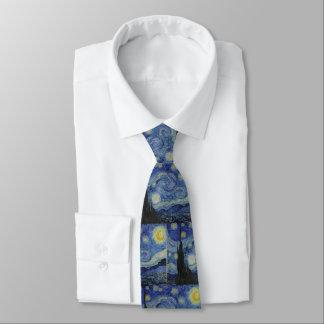 Corbata Personalizada Noche estrellada