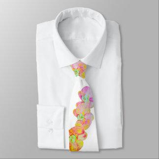 Corbata Personalizada Orquídeas del Caribe