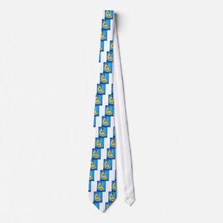 Corbata Personalizada Ovejas lindas en el cuarto de niños incógnito de