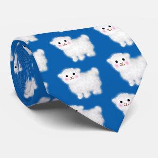 Corbata Personalizada Pequeño cordero lindo