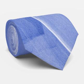 Corbata Personalizada Pinceladas abstractas en azul claro