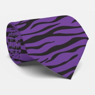 Corbata Personalizada Rayas de la cebra/impresión de la piel de la cebra