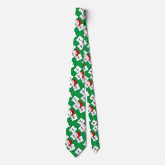 Corbata Personalizada Retruécano del navidad del elemento de la química
