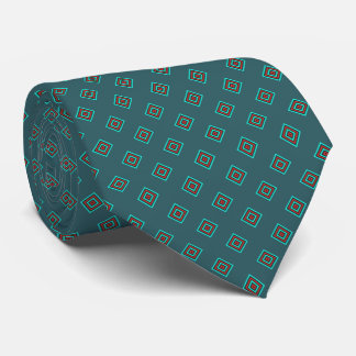 Corbata Personalizada Trullo y diamante rojo