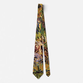 Corbata Personalizada Vincent van Gogh - prado en la bella arte del