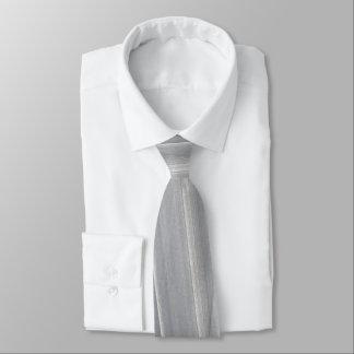 Corbata Pinceladas abstractas en gris claro
