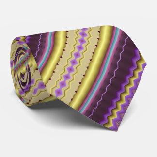Corbata Púrpura y modelo diagonal del fractal del oro