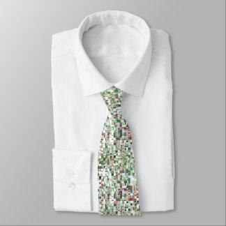 Corbata Racimos caóticos de verde