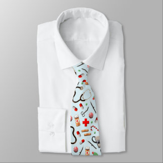 Corbata regalos del doctor para el navidad