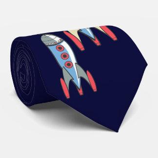 Corbata Rockets retros de lanzamiento