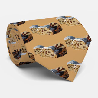 Corbata Rollo de canela del navidad