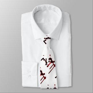 Corbata Salpicadura de la sangre del diseñador