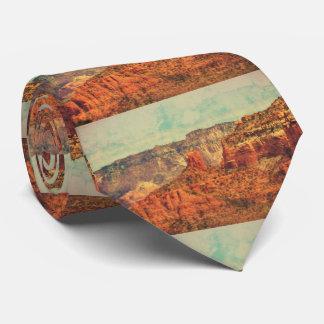 Corbata Sedona en lazo del Grunge