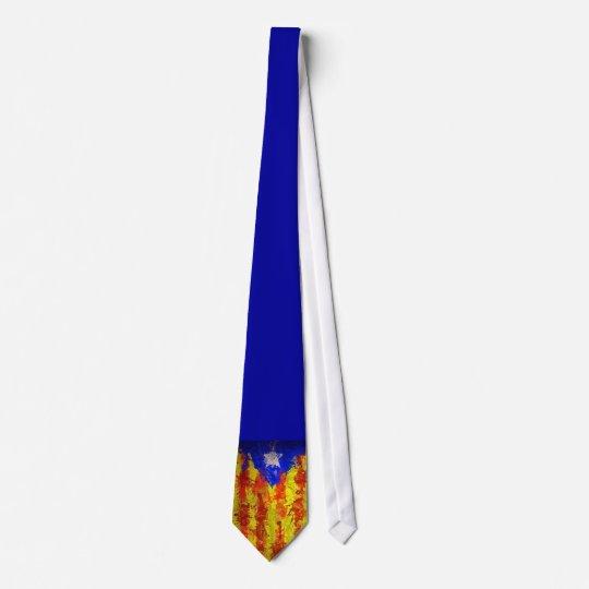 Corbata senyera catalana
