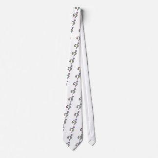 Corbata Signo de interrogación de la salpicadura del arco