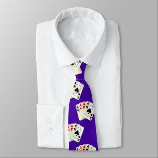 Corbata Todos los as en cualquier lazo del color