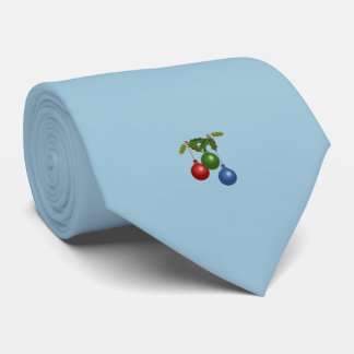 Corbata Tres bolas colgantes del navidad