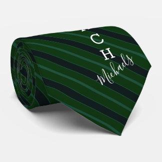 Corbata Verde del nombre del original de Coach del