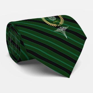 Corbata Verde personalizado cerebro médico