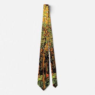 Corbata Vincent van Gogh - la arboleda - impresión de la