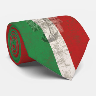 Corbatas Bandera y símbolos de Italia V2 ID157