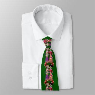 Corbatas Calavera Hermanas