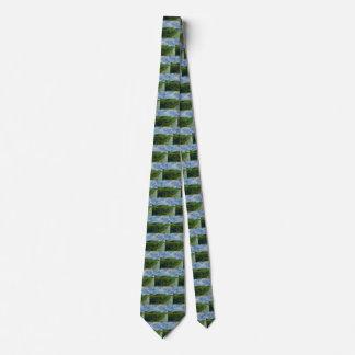Corbatas Campos de trigo verdes de Van Gogh, bella arte del