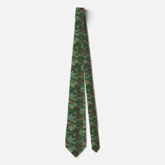 Corbatas Camuflaje