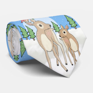 Corbatas Ciervos de la Navidad