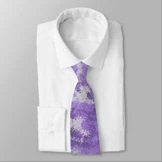 Corbatas Digi púrpura Camo