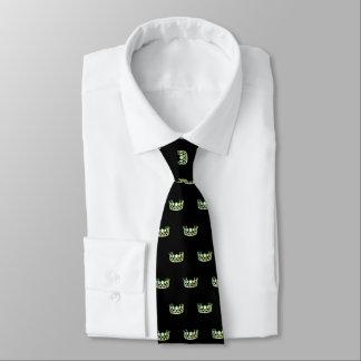 Corbatas El lazo de los hombres verdes de la corona de la