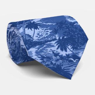 Corbatas hawaianas tropicales de la bahía de corbatas